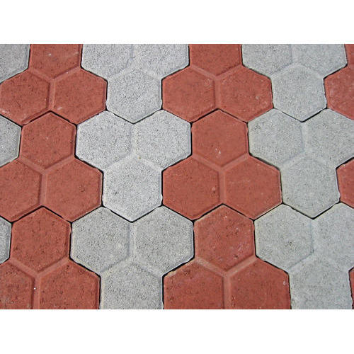Concrete flooring tiles