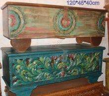 wooden antique beautiful tribal box