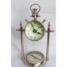 Aluminium Compass Clock