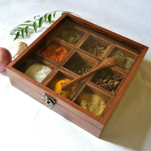 wooden spice boxes (sp 5001)