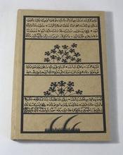 hemp paper printed notebook