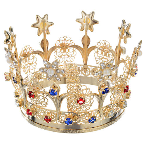 Crown With Flowers