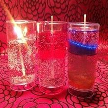 Decorative Designer Glass Gel Handmade Candles