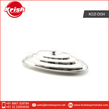 Stainless Steel Kozi Dish with Cover