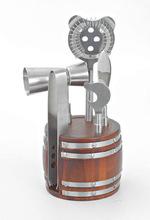Wooden Barrel Bar Tool Set
