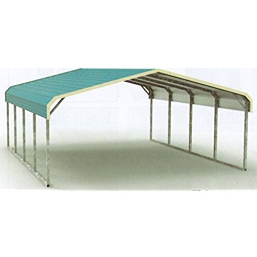 2 Car Metal Carport Corrugated Metal Sheet Carport By Shijiazhuang Sanhe Steel Structure Co Ltd Id 4398058