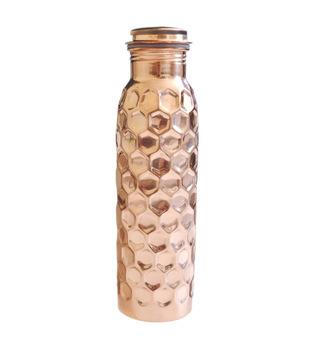 Copper Beer Bottle