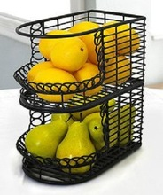 Shoppers Metal Wire Mesh Basket