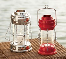 T Light Candle Multicolor Lantern