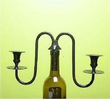 Wine Bottle Pattern Candlestick Candelabra