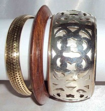 Wood Fancy Bangles