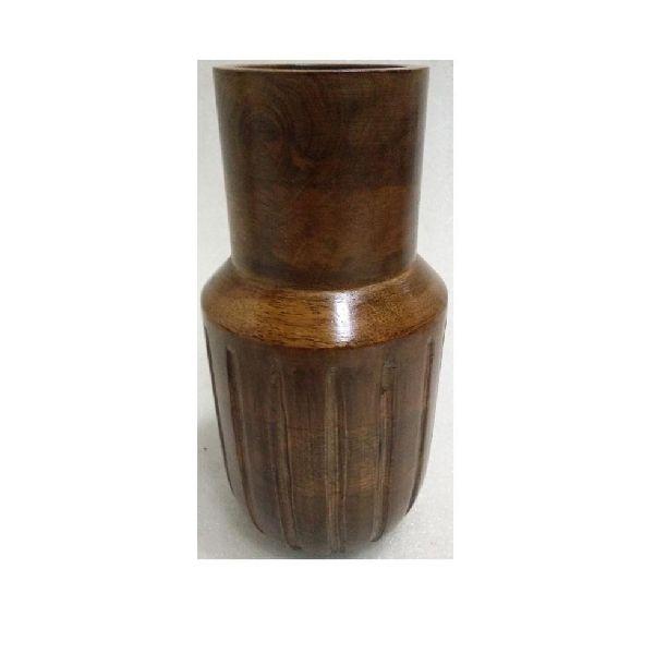 Wooden Home decorative Flower Vase