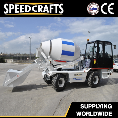 Self Loading Concrete Mixer (DS 2500)