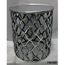 aluminium metal stool