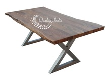 Wooden Dining Table Live Edge