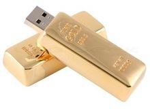 Gold Bar Style Pen Drive