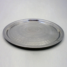 Stainless Steel Polish Food Serving Plate