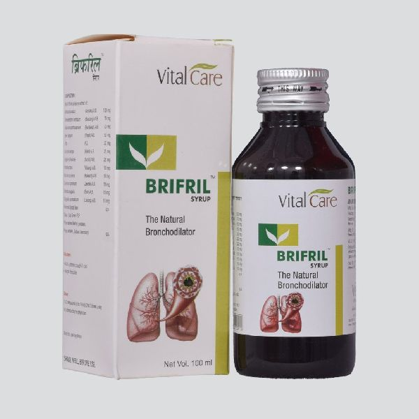 BRIFRIL SYRUP (The Natural Bronchodilator) Manufacturer & Exporters