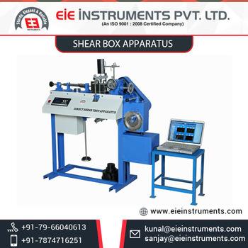 Noise Digital Direct Shear Apparatus