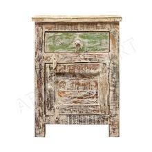 Antique Reclaimed Wood Whitewashed drawer