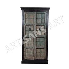 old Door Antique Wooden Almirah