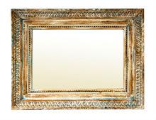 vintage mosaic mirror frame