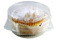 CLEAR SQUARE CAKE CONTAINERS