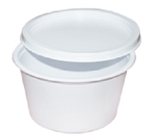 DISPOSABLE CURRY BOWL WITH LID