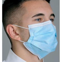 DISPOSABLE FACE MASK WITH EAR LOOP