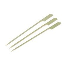 DISPOSABLE WOODEN FLAG SKEWERS