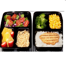 Microwavable Meal Prep Containers with Lids
