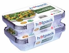 Supermarket Aluminum Foil food Container