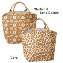 straw jute beach bag