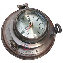 Nautical Ship Porthole Clock