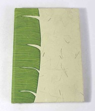 banana fiber paper school notebook