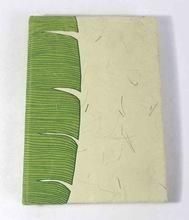 Banana paper notebook