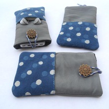 cotton canvas phone cover
