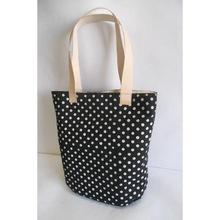 Cotton fabric handbag