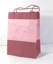cotton handmade paper bag