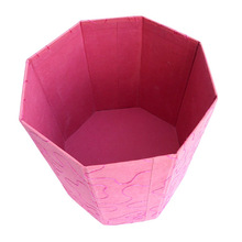 cotton paper embroidery dustbin