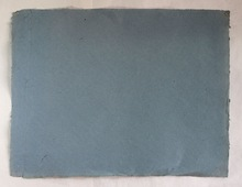 Decorative handmade recycled textured denim paper