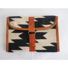 dhurrie clutches travel bags