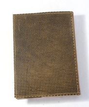 embossed cover refillable leather journal