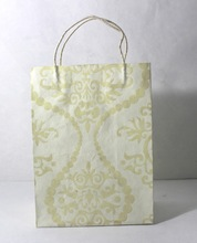 handmade cotton paper shopping bags