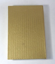 handmade metallic gold color sheet