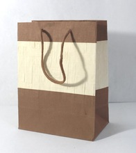 handmade paper with handle bag