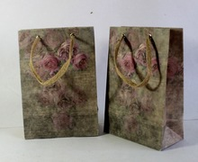 handmade recycled offset printed cotton beautiful bags