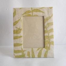 hemp paper photo frame