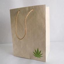 hemp paper travel gift bags