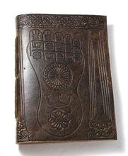 lokta paper leather journal